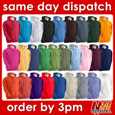 Gildan hoodie, adult plain hooded sweatshirt, men women pullover ladies sweat MW