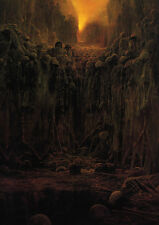 "Zdzislaw Beksinski ""Untitled 20"" Large Art Print Poster, Various sizes"