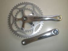 Stronglight Impact compact double chainset  9-10 speed square taper