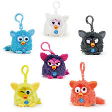 FURBY With Sound ~ Soft Plush 8cm Talking Furby Keychain Keyring ~ Brand New