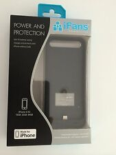 iFans 2400mAh MFI Extended Battery Case Charger Cover For Apple iPhone 5/5S MFI