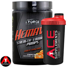 iForce Nutriton Hemavol 240g 32 Servings Pre Workout Stim Free Endurance Focus
