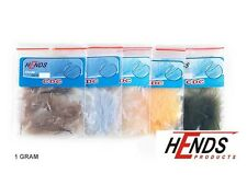 Hends CDC Feathers for Fly Tying | Cul De Canard | 1 Gram | Choice of Colours