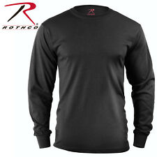Black Police Security Army Long Sleeve T-Shirt Tactical Military Shirt 60212