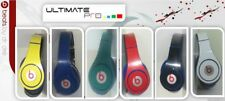 Sticker decal skin vinyl design compatible with Beats by Dr Dre studio red blue