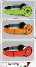 Sticker decal skin vinyl design compatible with Beats by Dr Dre solo neon wrap