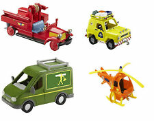Fireman Sam Vehicles - Bessie, Mountain Rescue 4 x 4, Helicopter, Mike's Van