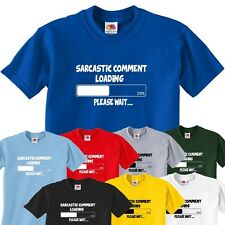 sarcastic comment loading mens funny joke present gift  t-shirts for men