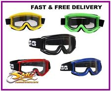 WSGG Standard Motocross MX ATV enduro off-road quad goggles black blue red green