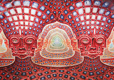 Psychedelic Trippy BIG Poster, Various sizes from A3.A4