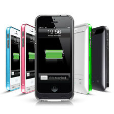 Ultra Slim 2400mah Battery Protective Phone Case Charger for Apple iPhone 5 / 5S