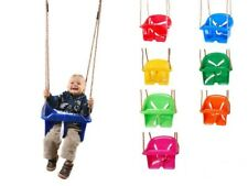 CHILDRENS GARDEN PLASTIC SWING SEATS SELECTION FOR KIDS CLIMBING FRAME PLAYHOUSE