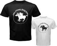 Neil Young and Crazy Horse Ragged Glory Tour Mens White Black T-Shirt Size S-3XL