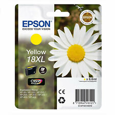GENUINE EPSON 18XL DAISY EXPRESSION YELLOW ORIGINAL INK CARTRIDGE (T1814)