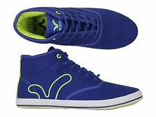 MENS VOI JEANS FIERY MIRACLE ROYAL HI TOP TRAINERS - ALL SIZES 6 TO 12