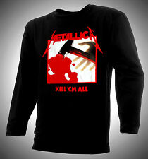 METALLICA - KILL'EM ALL -  100% COTTON T-SHIRT - EXCELLENT!!!