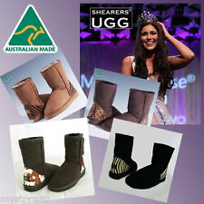HAND-MADE Australia Shearers UGG Special Edition Classic Short Sheepskin Boots