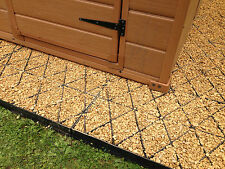 GARDEN SHED BASE KIT ECODECK AIR FLOW GROUND GRIDS BASE GREENHOUSE ECO BASE GRID