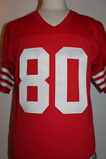 Jerry Rice #80 San Francisco 49ers Throwback Jersey Mitchell & Ness Jersey Red