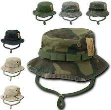 Woodland Camo Military Boonie Hunting Army Fishing Bucket Hat Rapid Dominance