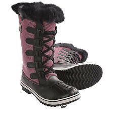 NEW in BOX Women's Sorel Tofino Nylon Pac Boots Waterproof Insulated Red/Chili
