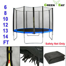 TRAMPOLINE REPLACEMENT SAFETY NET ENCLOSURE SURROUND Outdoor 6 8 10 12 13 14 ft
