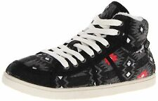 Roxy Juniors Rockie Fur II Sneakers Shoes-Black