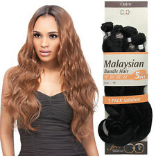 """Outre Malaysian Bundle Hair Synthetic Extension 18""""20""""20""""22""""+Closure 1PACK 5PCS"""