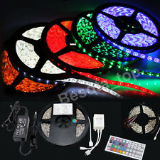 3528 5050 5M White 7colors 300 SMD 12V LED Flexible Strip Light Waterproof tape