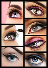 Beauty Salon, Spa, Make up, Eyebrow,Shaping HQ Tiled POSTER,Various size from A4
