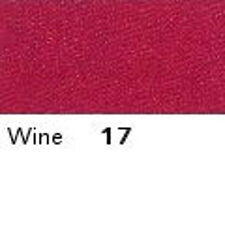 WINE 17  FULL ROLL - Berisfords Double Satin Ribbon - Choose from 8 widths