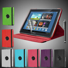 Rotating PU Leather Case Stand Cover for Samsung Galaxy Note 10.1 N8000 N8010