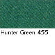 GREEN 455  -  FULL ROLL - Berisfords Double Satin Ribbon - Choose from 8 widths