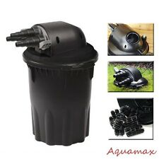 2000 Gallons Koi Fish Pond Pressurized 13 Watts UV Bio Filter with Water Pump
