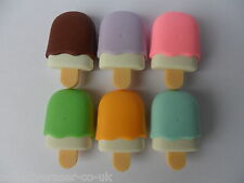 !!NEW!! Novelty Eraser/Rubber- Iwako Ice Lolly in 6 Variations- Party Bag Gift!