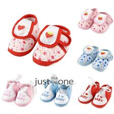 New Cute Soft Sole Anti-Slip Chic Learn Walking Shoes For 0-12M Baby Kids