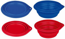 Silicone Collapsible Dog Bowl Travel Camping Food Bowl Foldable Dish
