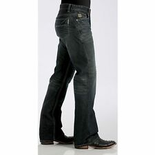CINCH Men's Dark Wash LOWDEN Mid Rise Boot Cut Relaxed Jeans MB70034001 -IND NWT
