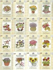 DMC NEW 2014 FLOWERS MINI CROSS STITCH KITS 16 TO CHOOSE FROM TULIP LILY & MORE