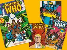 USA Marvel Doctor Who comic books from the 1980s.  Near mint.  Choose yours!