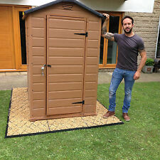 FULL INCLUSIVE ECO PLASTIC SLAB BASE KIT FOR A GARDEN SHEDS OR DRIVEWAY GRID KIT
