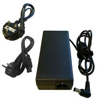 For Sony Vaio VGP-AC19V19 PCG-7144M VGN-NR38E Charger Adapter + CABLE UK EU