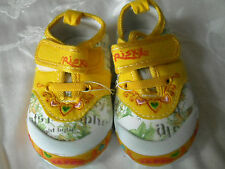 FRISKY MARY JANE YELLOW CANVAS  BABY TODDLER  LITTLE GIRLS SHOES