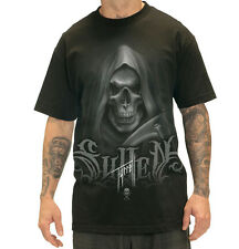 SULLEN CLOTHING  BOB TYRRELL REAPER TATTOO SCENE INK SKULL T SHIRT