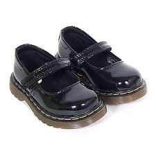 Dr Martens Infant's Tully Mary Jane Patent Leather Shoe Black