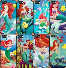 for iPhone 5/5S hard case disney little mermaid - add message if need iphone 6 6