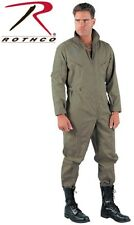 Foliage Green Military Style Flight Suit Air Force Style Fighter Coveralls 7662