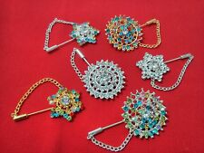 Bubbly Hijab pin Brooches pin Bonnet or scarf pin 6 Glitzy styles