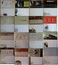 Blank First Day Cover Envelopes/Inners: LOT 3: sixteen different choices
