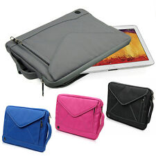 "10"" Tablet Bag Pouch Carry Case For Samsung Galaxy Note 10.1"" 2014 Edition P600"